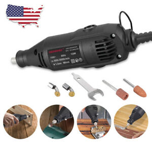 Electric Grinder Rotary Tool 5 Variable Speed Drill Set 110V