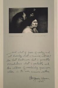 Frank Howell Lithograph quot;Anxious Weather 1985quot; Signed and Numbered $600.00
