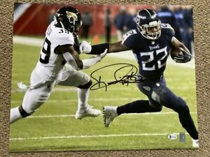 Derrick Henry Signed Tennessee Titans 16x20 Photo $99.99
