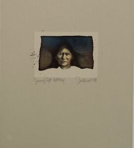Frank Howell Lithograph quot;Journey#x27;s Gift 1981quot; Signed and Numbered $850.00
