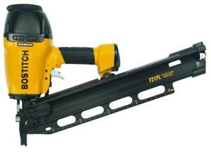 NEW BOSTITCH F21PL Round Head 1 1 2 Inch to 3 1 2 Inch Framing Nailer 4860870 $207.99