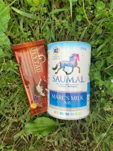 Organic Mare's milk powder 250 g amp; a chocolate with addition of mare milk 75 g