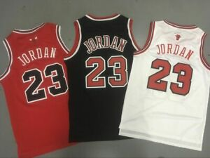 Mens Youth #23 Michael Jordan Chicago Bulls Throwback Jerseys Stitched All $19.99