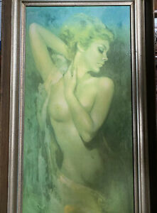 """leo jansen oil paintings The dimensions are without frame 15""""x30"""" $550.00"""
