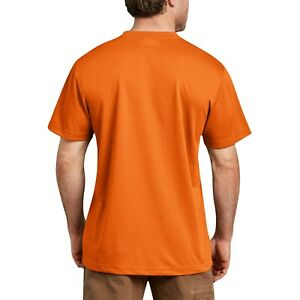 Genuine Dickies Tall Mens High Visibilty Work Shirts 2XLT Choose Color