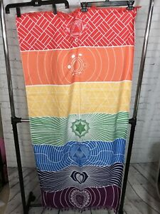 "Chakra Wall Tapestry Size 58""x29"". For Yoga Meditation. New In Package."