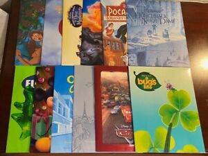 Lot of 12 Disney Exclusive Commemorative Lithographs w Sleeves **MINT**RARE** $299.99