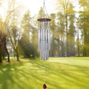 Large Chimes Amazing Grace Free USA Shipping Metal Wind Chimes Outdoor Decor $15.65