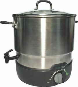 NEW BALL 1440035017 21 QUART ELECTRIC WATER BATH CANNER COOKER STEAMER 2360071