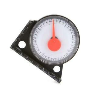 Slope Protractor Angle Finder Level Meter Clinometer Gauge With Magnetic Base $3.59