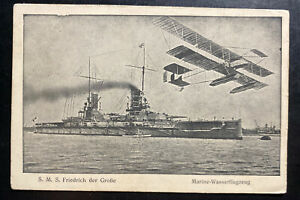 1917 Navy Marine Fieldpost Germany Real Picture Postcard cover to Munich $134.99
