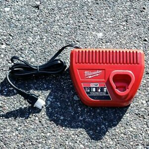 Milwaukee M12 12V Battery Charger Brand New #48 59 2401 Authentic OEM