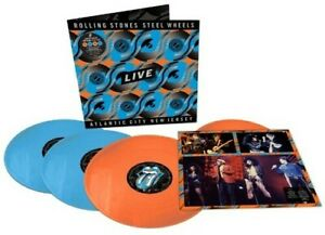The Rolling Stones Steel Wheels Live Live From Atlantic City NJ 1989 New $69.71