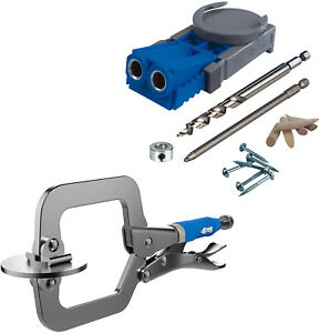 Kreg Jig R3 Pocket Hole System with Classic 2quot; Face Clamp $54.95