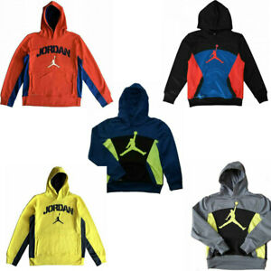 NWT $65 NIKE JORDAN Elephant Print Therma Fit Boys Hoodie SELECT SIZE amp; COLOR $26.99