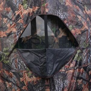 Sturdy Ground Hunting Blind Portable Deer Pop Up Camo Hunter Tent
