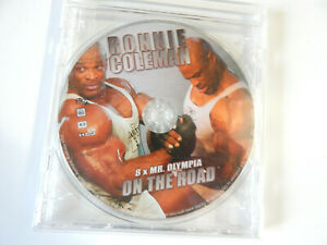 Ronnie Coleman On the Road 2005 Bodybuilding DVD Mr Olympia