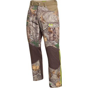 Under Armour ColdGear® Infrared Storm Barrier Pants 2XL RTAP Camo Hunting