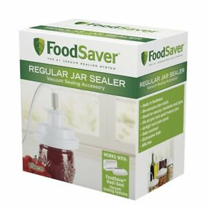 T03 0006 02P Sunbeam FoodSaver Vacuum Sealing Accessory Jar Sealer $20.95