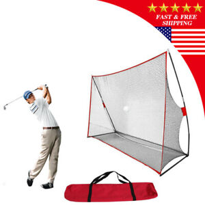 Golf Net Practice Golf Large Hitting Area Great for Year Around Portable US $55.99