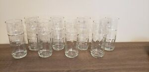 Set Of 8 Tiki Glasses Hurricane Kitsch $39.99