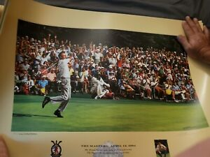 1964 Masters Lithograph 846 thru 855 of 964 all signed by artist Bill Purdom $260.00