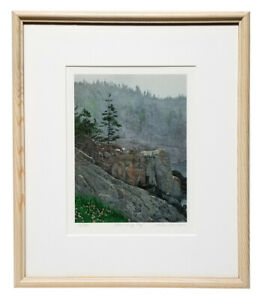 HELEN RUNDELL Signed Original Limited Edition Color Lithograph LOWERING FOG $49.95