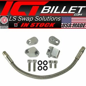 LS Coolant Steam Port Crossover Hose Kit LS1 Throttle Body Bypass $54.99