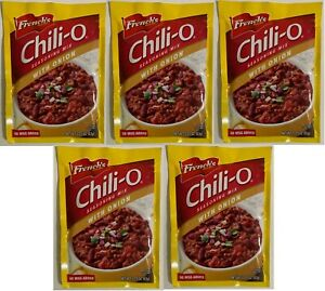 French#x27;s Chili O Seasoning Mix with Onion 2.25 oz Lot of 5 Packs Exp.2022 $19.99