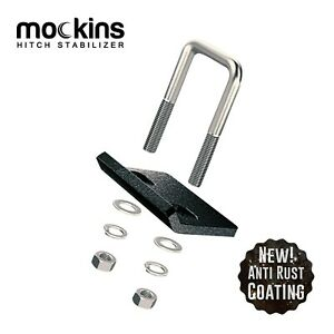 Mockins Hitch Mount Cargo Carrier Anti Rattle Hitch Tightener Stabilizer Towing