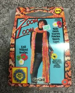 Zoom Loom Knit Hats amp; Scarves Knit Cozy Fashions Without Needles