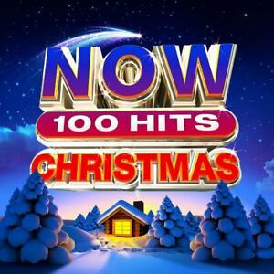 Now 100 Christmas Hits ESSENTIAL HOLIDAY SONGS Best Of MUSIC New Sealed 5 CD