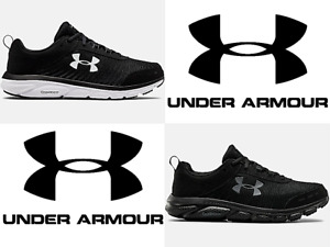 Under Armour UA Mens Charged Assert 8 4E Wide Running Shoes Sneakers 3022641 $48.99
