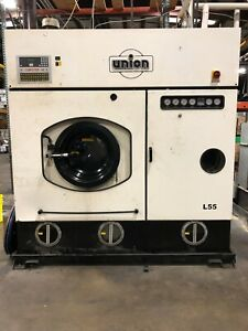 Union Dry Cleaning Machine L55 Capacity 55 Lbs. Voltage 208 240 $3000.00