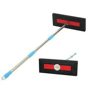 Roof Snow Rake Snow Removal Tool with Adjustable Pole for Roof No Scratch Pus $31.48