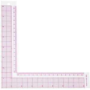 Sewing Ruler Plastic L Square French Curve Measure Professional Tailor Craft $13.64