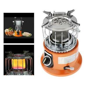 Portable Gas Stove Heater Camping Compact Tent Warmer Backpack Cooking Gear $114.55