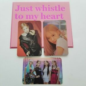 Blackpink Rosé Photocard Card Set Square Up Kill This Love How You Like That YG $30.00