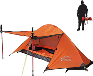 Winter Tent 4 Season Traveling Hunting Hiking Cover Shelter Camping for 1 Person