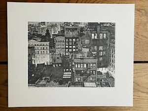 Seth Armstrong Noho 2019 Zinc Plate Etching Signed Edition of 10 $349.00