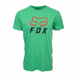FOX RACING MENS HERITAGE GREEN T SHIRT $10.75
