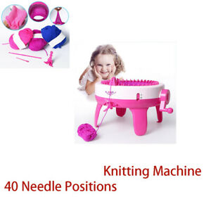 Knitting Tool 40 Needle Positions Weaving Loom Hat Scarf Hand Learning Toy Child