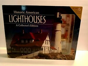 Historic American Lighthouses; Collector's Edition Includes 6 Lighthouse Mini#x27;s $25.00