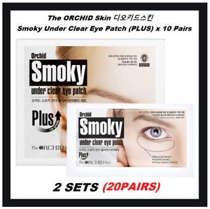 The Orchid Skin SMOKY Under Youth Eye Patch 10pcs Pack Korean Cosmetics NEW $17.99