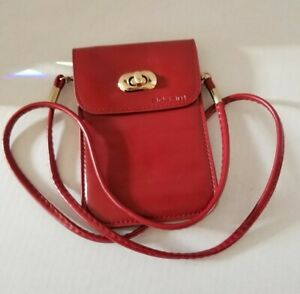 BOSAM Leather Small Crossbody Bag Cell Phone Wallet