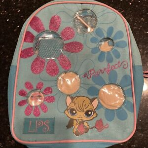 Littlest Pet Shop Pink Backpack Carrier Carrying Case 2007 NEW $20.00