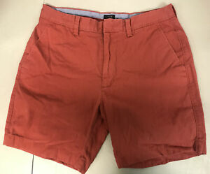 J. Crew Reade Mens Shorts Red Size 31W $10.95
