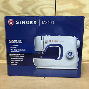 NEW SINGER M3400 Sewing Machine 23 Built In Stitches and Accessories $140.00