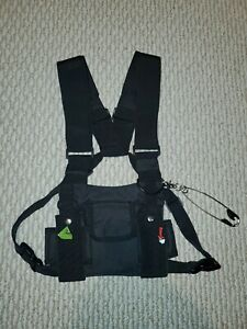 Cross Body Pocket Pouch Eboy Emo unisex Bullet Vest Style Harness Bag C $30.00