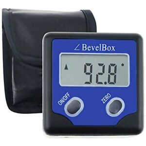 Digital Level Angle Finder Magnetic Bevel Box Gauge And Protractor Inclinometer $42.80